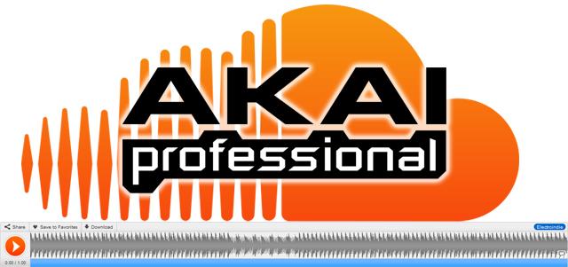 Akai Pro en SoundCloud