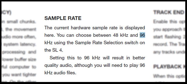 Rane SL's comparativa Manual