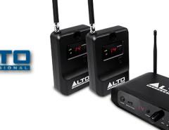 alto speaker wireless system front