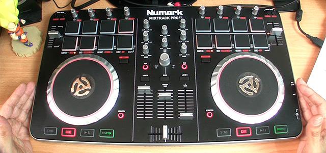 numark mixtrack pro 2 front