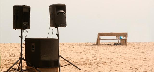 sonido playa front