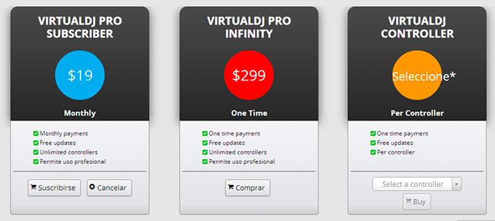 Virtual DJ 8 Planes