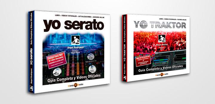 Yo Serato y Yo Traktor: Dos libros que no te puedes perder