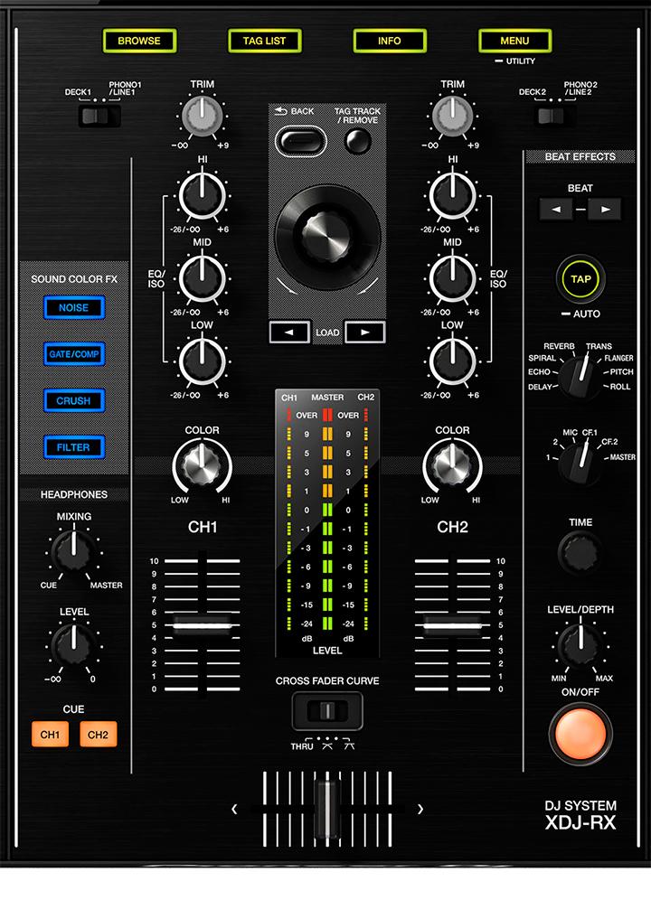 Pioneer-XDJ-RX_mixer