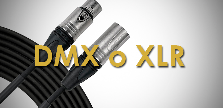 Diferencias Entre Cables DMX y XLR