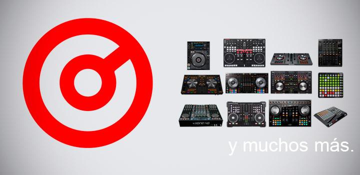Virtual DJ controladores
