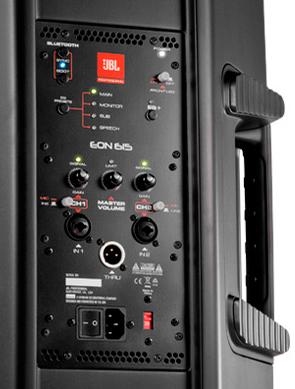 JBL EON 615: Amplificación
