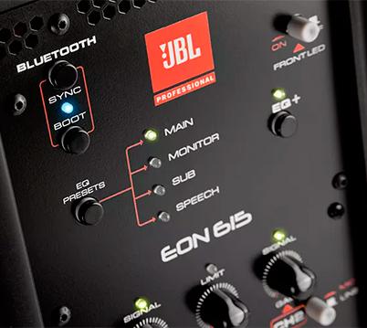 JBL EON 615: DSP