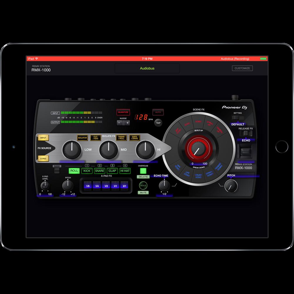 El rmx 1000 revive y llega como app para el ipad dj for App para disenar muebles ipad