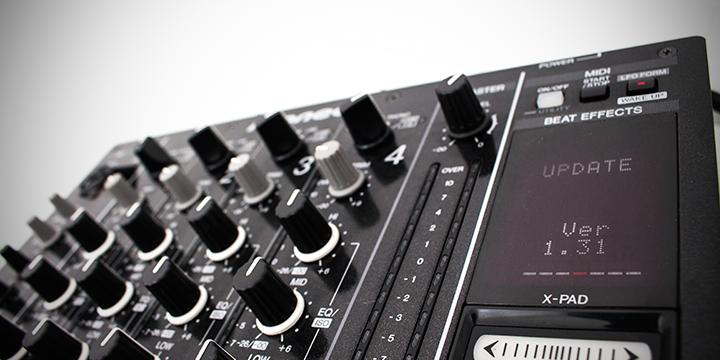 Actualización del firmware de la DJM-900nxs