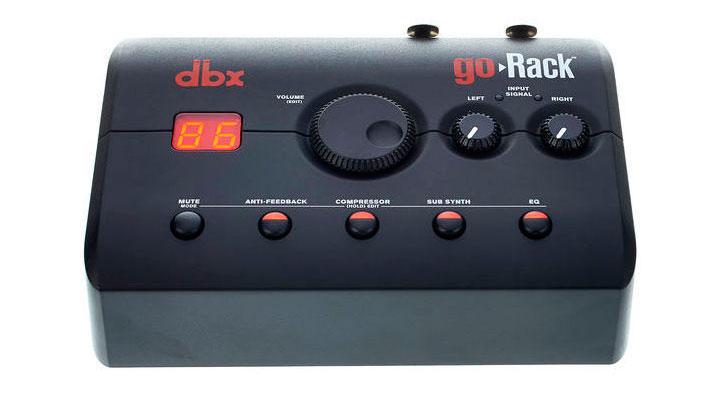 DBX GoRack - Vista superior