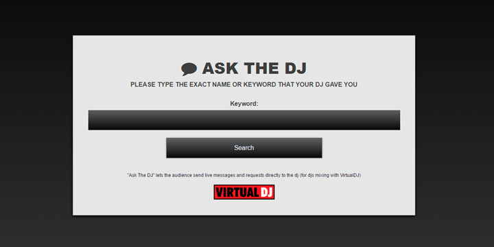Virtual DJ Ask The DJ