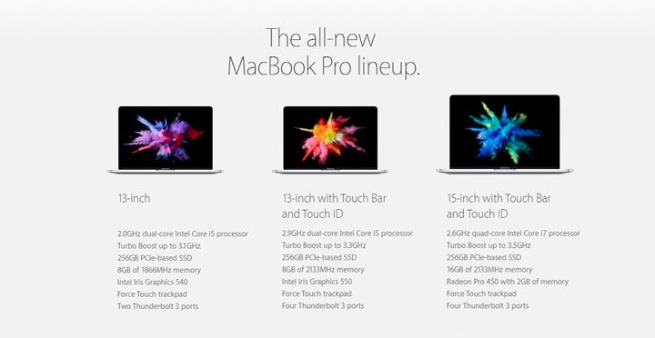 Apple Mackbook 2016