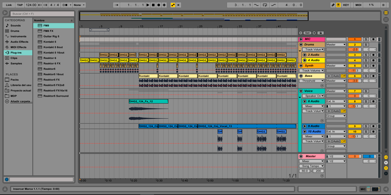 Ableton Stems