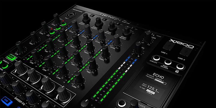 Denon DJ Presenta El X1800: Su Nueva y Poderosa Mixer