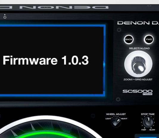 Denon DJ S5000 Firmware