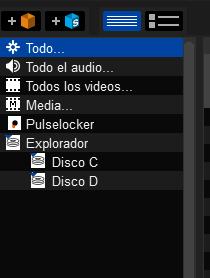 Explorador en Serato DJ