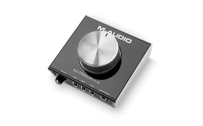 M-Audio M-Track Hub 01