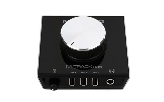 M-Audio M-Track Hub 02