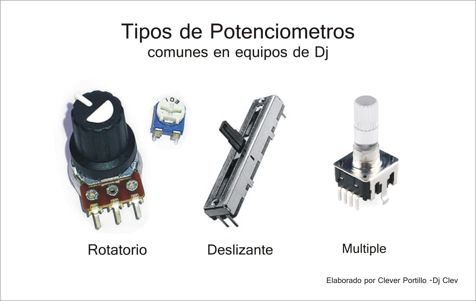 Tipos de pontenciometros