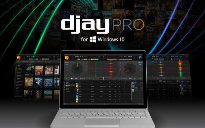 DJAY Pro Soporta Windows