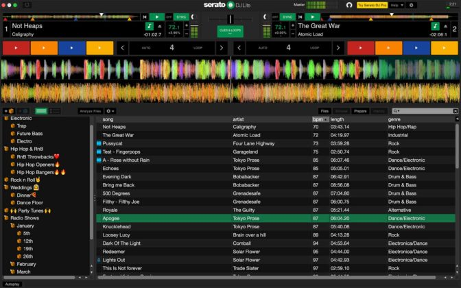 Serato DJ Lite Practice Mode