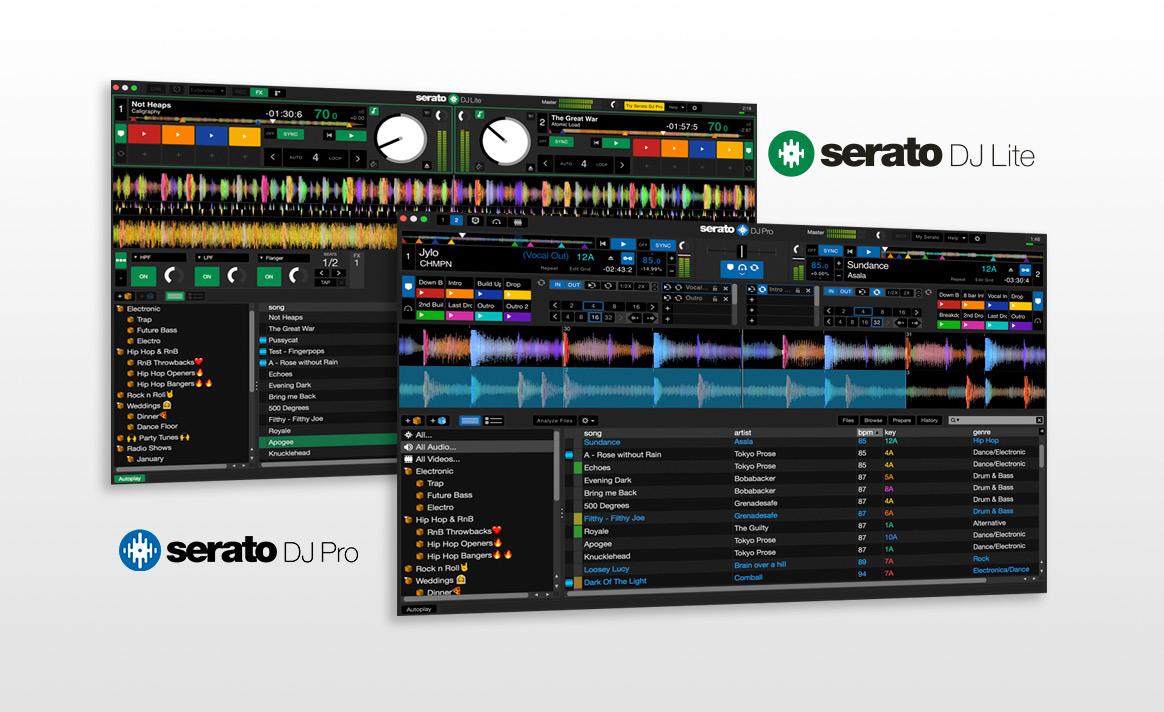 Serato DJ Pro & Serato DJ Lite