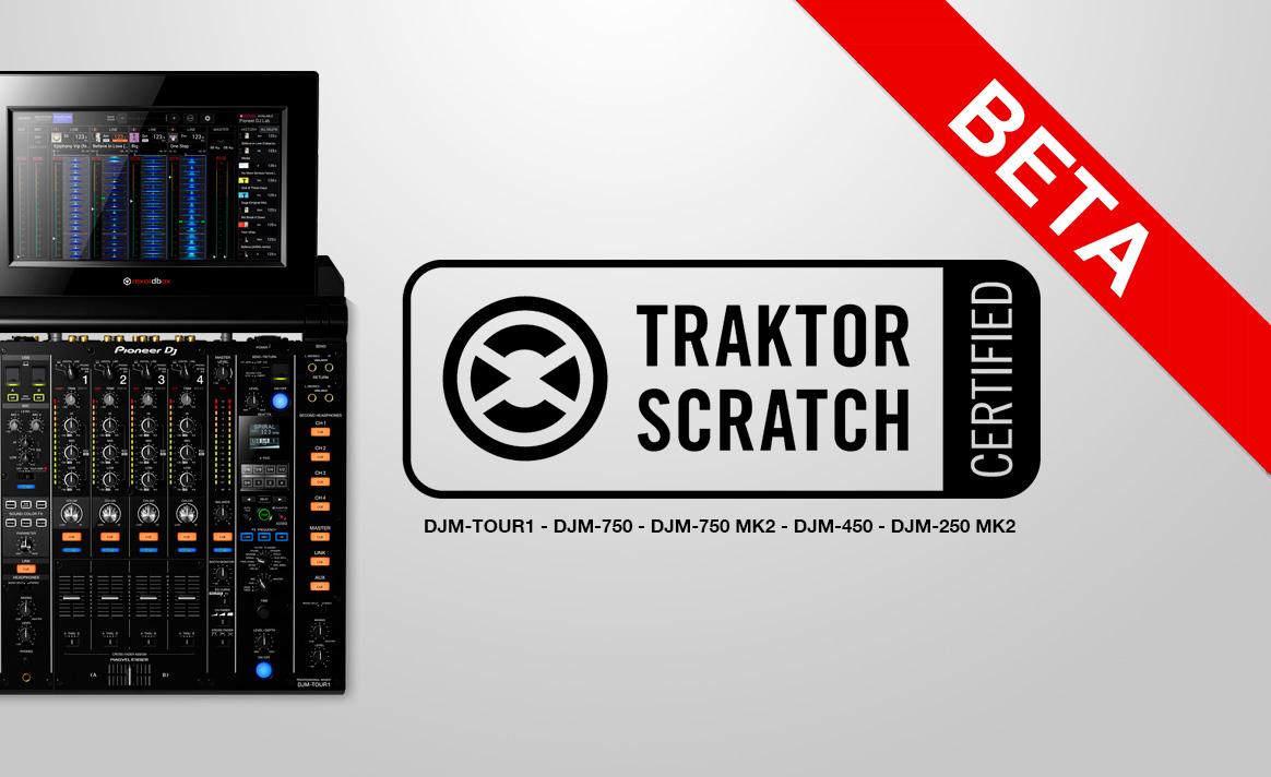 Traktor Beta Certifica Mezcladoras de Pioneer DJ