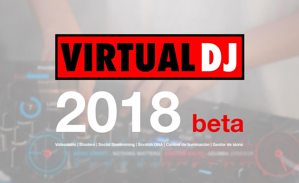 Virtual DJ 2018 beta