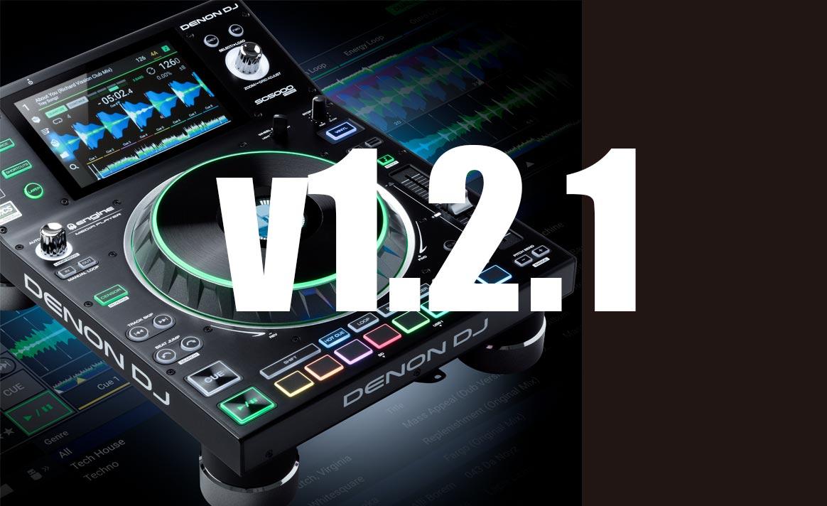 ACTUALIZACIÓN: Engine Prime v1.2.1, SC5000 y SC5000M v1.2.1