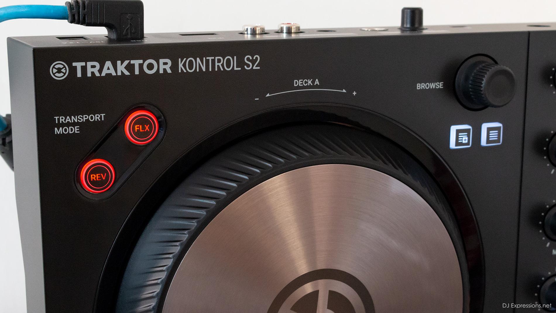 Traktor Kontrol S2mk3 Review - FLX, REV