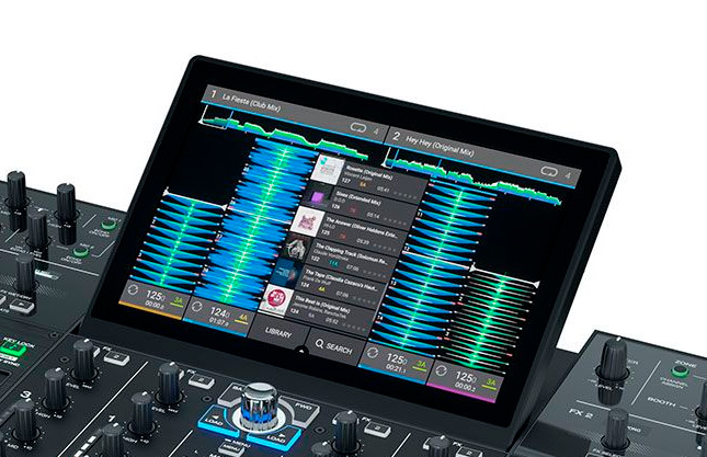Denon DJ Prime 4 - Pantalla