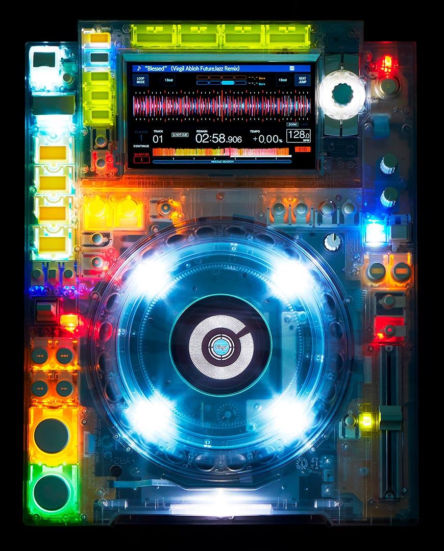 Pioneer DJ CDJ-2000nxs2 transparente
