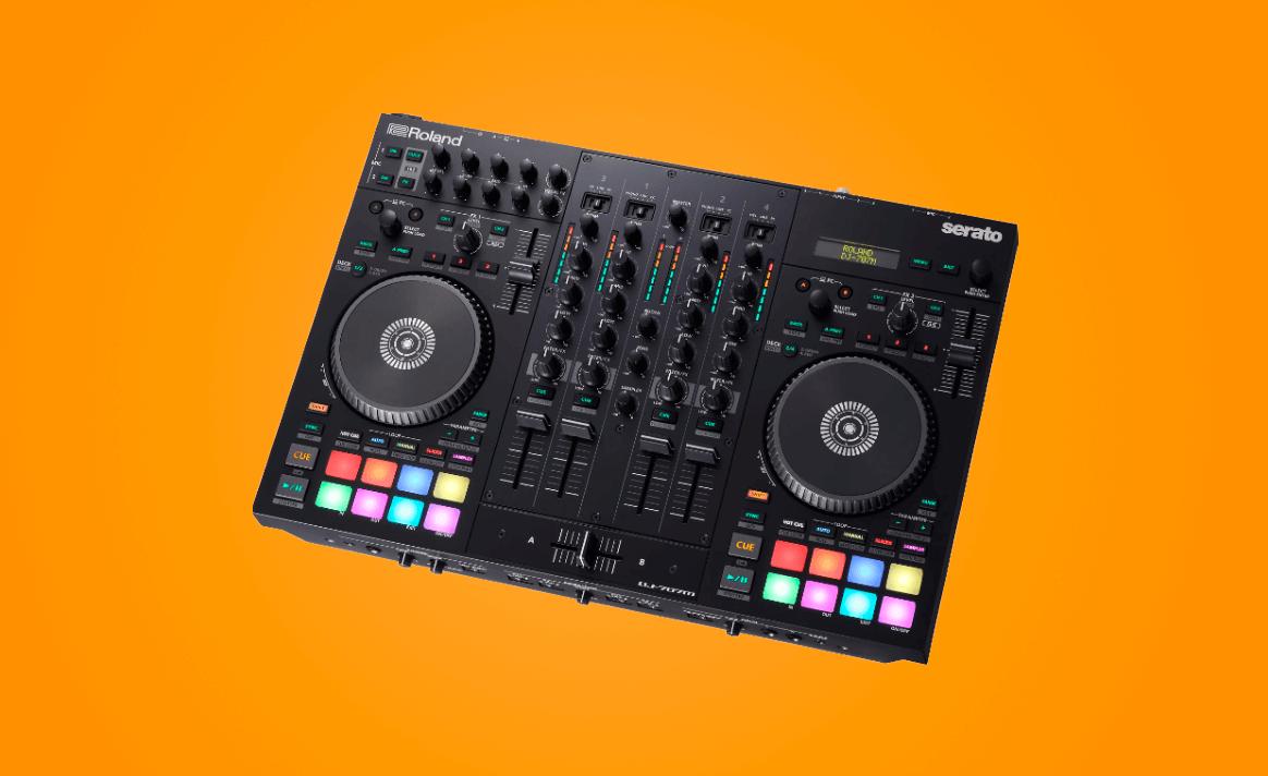 Roland DJ-707M controlador para Serato DJ Pro