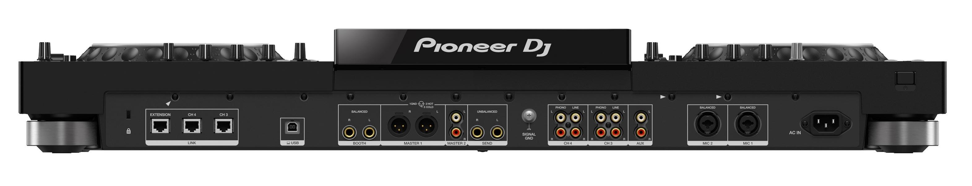 Pioneer Dj XDJ-XZ - Back