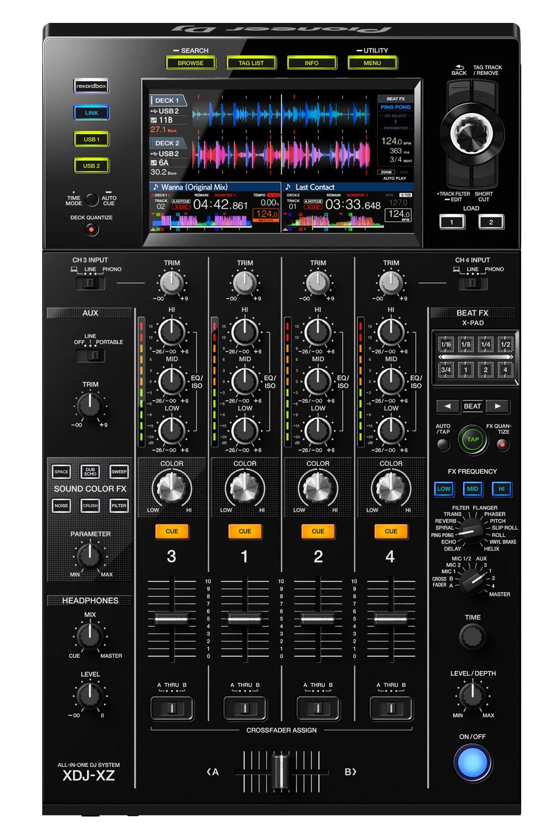 Pioneer DJ XDJ-XZ - Mixer