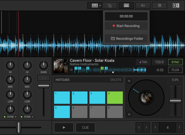 Native Instruments - Traktor DJ 2.3.0 Record