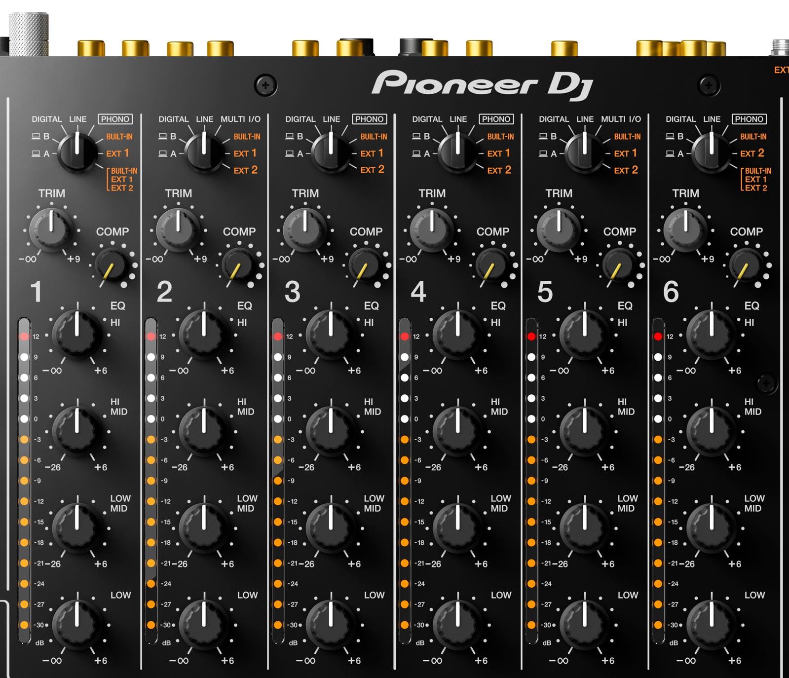 Pioneer DJ DJM-V10 - 6 Canales