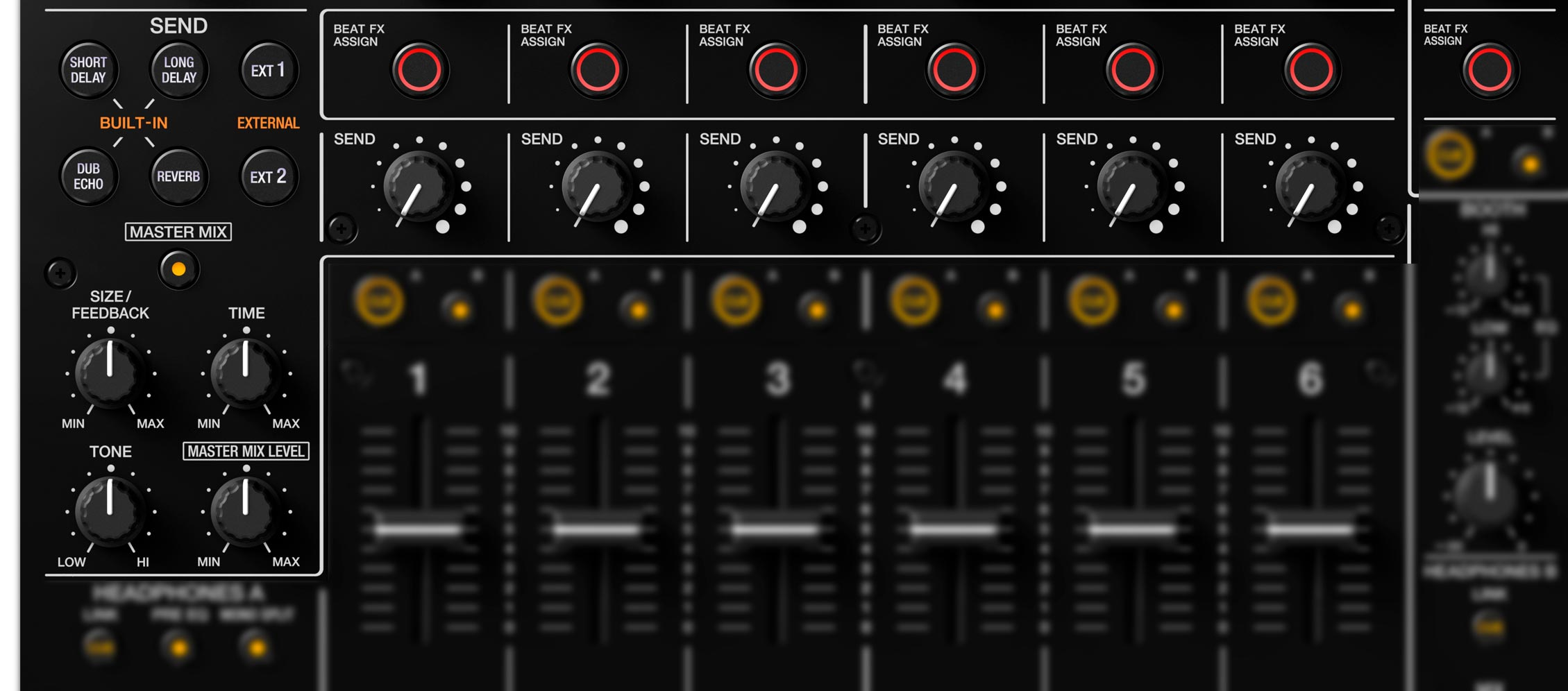 Pioneer DJ DJM-V10 - Send/Return + FX