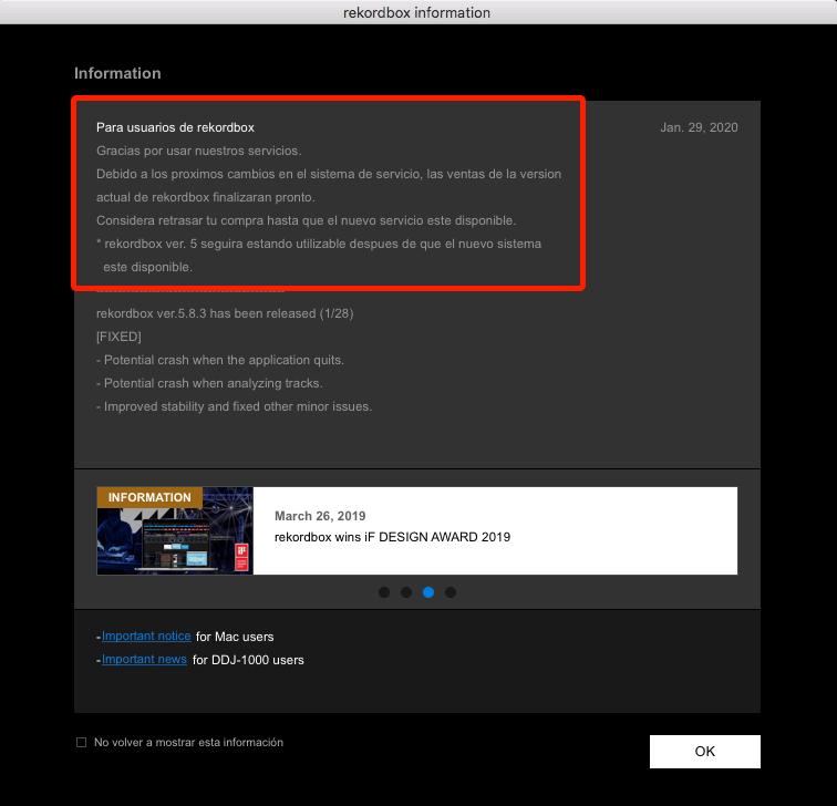 Rekodbox 5.8.3 Importante Actualización