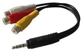 Cable TRRS a RCA