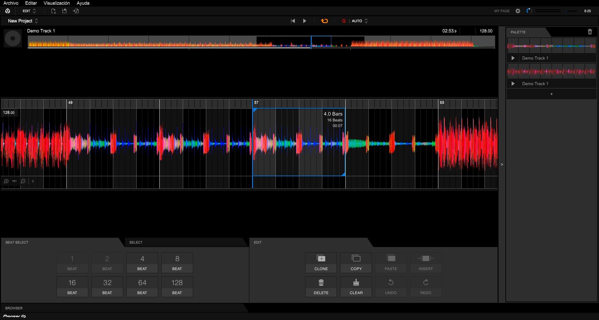 Rekordbox 6.1.1 - Modo Edit